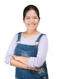 Asian mechanic woman Stock Photos