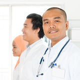 Asian medical team portrait Royalty Free Stock Photography