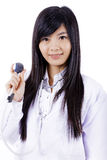 Asian medicine doctor woman Stock Photos