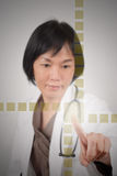 Asian medicine woman Royalty Free Stock Images
