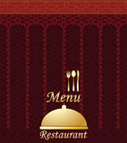 Asian Menu Restaurant Stock Image