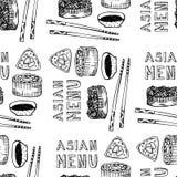 Asian menu Stock Images