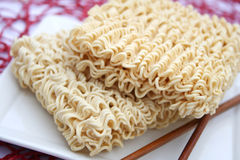 Asian mie noodles Royalty Free Stock Photos