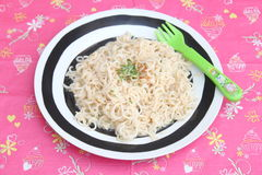 Asian mie noodles Stock Images