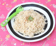 Asian mie noodles Royalty Free Stock Images