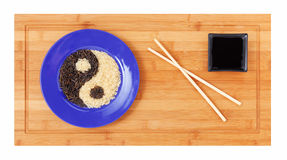 Asian minimalist`s breakfast Stock Photo