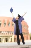 An asian miss graduate Stock Image