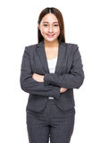 Asian mixed business woman, Indonesian and Chinese Royalty Free Stock Images