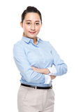 Asian mixed race business woman Royalty Free Stock Images