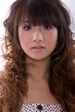 Asian model Royalty Free Stock Photo
