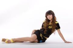 Asian model. A beautiful young asian fashion model Stock Photography