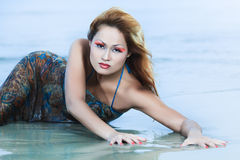 Asian model Royalty Free Stock Images