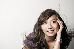Asian Model Royalty Free Stock Photos
