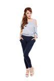 Asian model. A beautiful young asian fashion model Royalty Free Stock Image