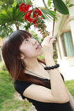 Asian   model Stock Images