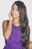 Asian model closeup image Stock Photos