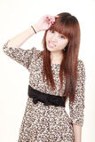 Asian model's portrait Stock Photography