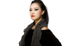 Asian Model Woman-Thai Ethnicity Beauty Royalty Free Stock Images