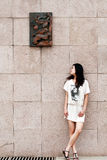 Asian modern girl Stock Photos
