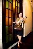 Asian modern malay woman Stock Images