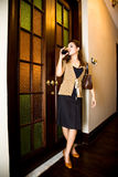 Asian modern malay woman Royalty Free Stock Photos