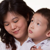Asian Mom stock image
