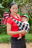 Asian mother with baby Royalty Free Stock Image