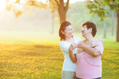 Asian mother with daughter Stock Images