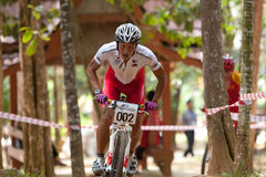 Asian Mountain Bike Championship in Malaysia royalty free stock photos