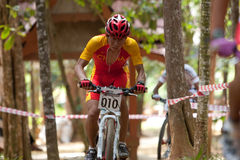 Asian Mountain Bike Championship in Malaysia Stock Image