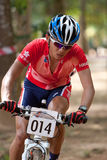 Asian Mountain Bike Championship in Malaysia Royalty Free Stock Images