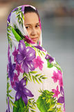 Asian muslim woman Stock Image