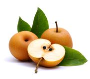 Asian nashi pears Stock Photography