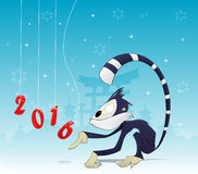 Asian New Year illustration Stock Images
