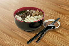 Asian Noodle Bowl stock photography