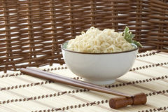 Asian noodle bowl Stock Photo