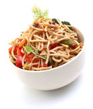 Asian noodle dish Stock Image