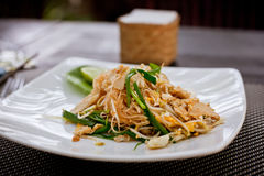 Asian noodle dish Royalty Free Stock Image