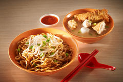 Asian noodle Royalty Free Stock Images