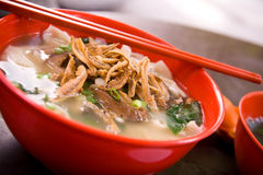 Asian Noodle – Pan Mee Royalty Free Stock Images