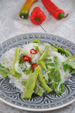 Asian Noodle Salad Stock Images