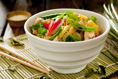 Asian noodle salad Royalty Free Stock Photography