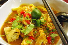 Asian noodle soup Royalty Free Stock Photography