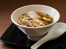 Asian noodle soup Stock Images