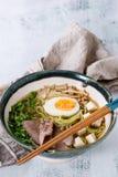 Asian noodle soup Stock Image