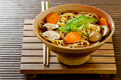 Asian noodle soup Stock Photography