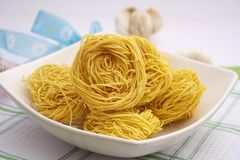 Asian noodles Stock Image