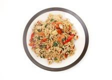 Asian noodles Stock Photos