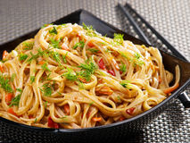 Asian noodles Royalty Free Stock Images