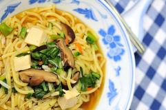 Asian noodles in restaurant Royalty Free Stock Photo